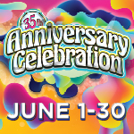 At Tulalip Bingo near Marysville, WA on I-5 enter Anniversary Gift Appreciation drawings in June when you play!