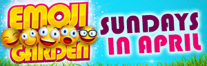 Play slots at Tulalip Bingo & Slots south of Bellingham near Marysville, WA on I-5 on Sundays in April to try your luck at Emoji Garden Bingo!