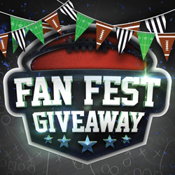 At Tulalip Bingo near Marysville, WA on I-5 enter to win a Fan Fest Giveaway on select Monday and Sundays in September!