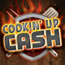 At Tulalip Bingo & Slots just north of Marysville on I-5 you can play Cookin' Up Cash every Sunday in July!