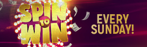 At Tulalip Bingo & Slots play Spin to Win Sundays in November - we are located just north of Lynnwood and Everett on I-5!
