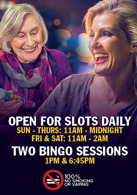 Get playing Bingo 7 days a week at Tulalip Bingo just off I-5 north of Seattle.