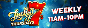 Buy in at Bingo for $25 or more or 250 slots points to be eligible to win gifts and up to $777 cash at Tulalip Bingo!
