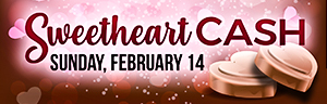 Be one of the first 300 to buy in at Bingo for $25 or more on Valentine's Day, to receive a box of chocolates at Tulalip Bingo!