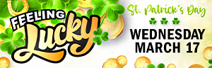 "Win up to $500 cash. Three winners will select a box of ""Lucky Charms"" to win at Tulalip Bingo!"