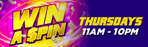 Win up to $500 cash each Thursday in March! Earn 250 slots points or $25 bingo buy-in to qualify each Thursday at Tulalip Bingo!