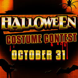 At Tulalip Bingo & Slots near Marysville on I-5 join the Halloween Costume Contest - check the rules!