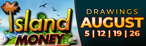At Tulalip Bingo & Slots just north of Bothell near Marysville on I-5 you can play slots all August long to earn entries into the Sunday Island Money Drawings!