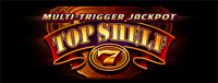 Image of theMulti-Trigger Jackpot Top Shelf slot machine logo at Tulalip Bingo & Slots