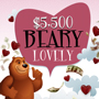 Enjoy Tulalip Bingo & Slots just north of Edmonds on I-5 with $5,500 Beary Lovely Drawings Mondays and Wednesdays in February!