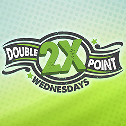 At Tulalip Bingo near Marysville and Seattle on I-5 earn twice the points towards twice the cash back on Wednesdays!