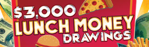 Tulalip Bingo $3,000 LUNCH MONEY DRAWING EVERY MONDAY IN SEPTEMBER