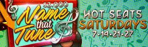 Tulalip Bingo presents $3,000 Name that Tune hot seat drawing every Saturday in January!