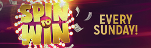 Earn points at Tulalip Bingo north of Everett near Marysville, WA on I-5 and receive Spin to Win entries on Sundays in November!