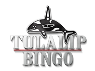 Logo for Tulalip Bingo just off I-5 north of Seattle