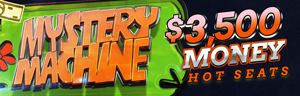 Come and play at Tulalip Bingo near Everett, WA on Fridays to participate in the $3,500 Mystery Machine Money Hot Seats!