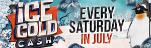 Play every Saturday in July for your chance to win ice cold cash at Tulalip Bingo near Marysville just off of I-5!