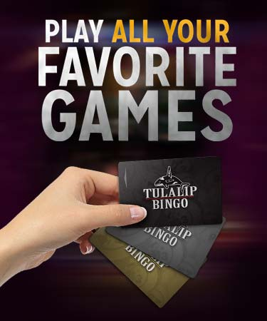 Play all of your favorite games at Tulalip Bingo just off I-5 north of Seattle near Marysville. (small image)
